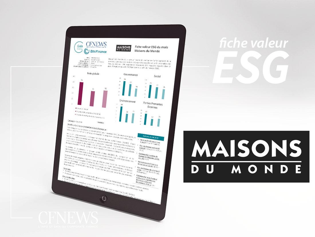 Fiche ESG du mois